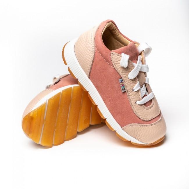 Adidasi din piele naturala pentru fete model AGNES