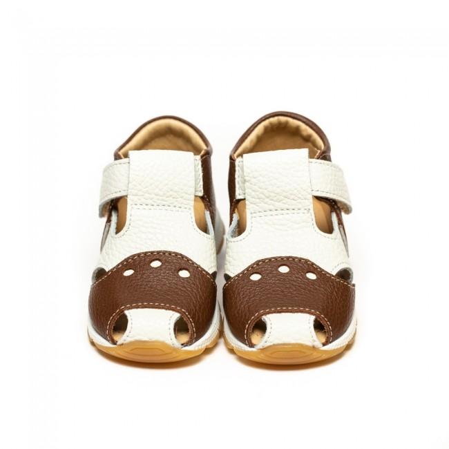 Sandale pentru baieti din piele naturala model AKAU