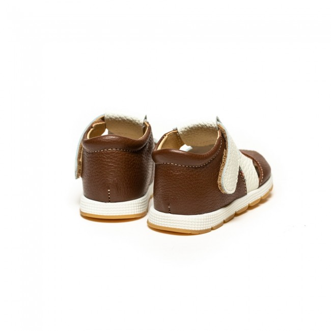 BABY BOY NATURAL LEATHER MODEL AKAU