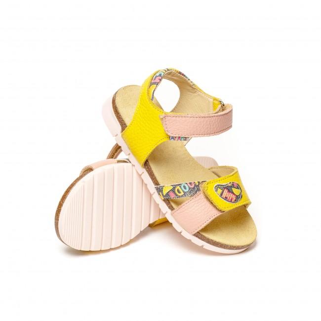 Sandale pentru fete din piele naturala model ALTHEA