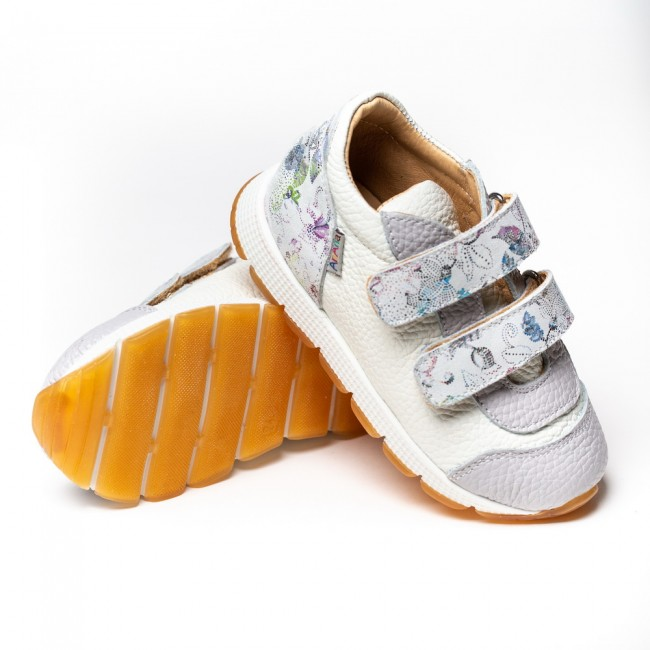 NATURAL LEATHER GIRL SNEAKERS MODEL ANNIS
