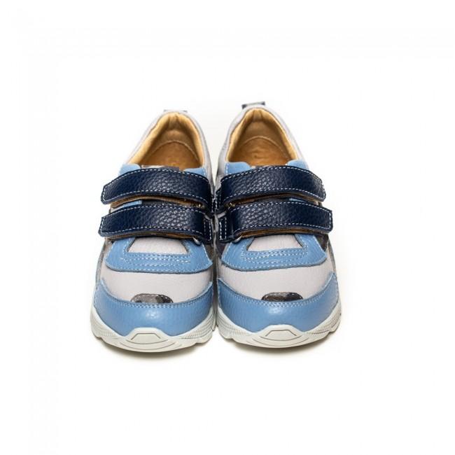 Adidasi din piele naturala pentru baieti model BENITO