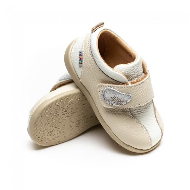Pantofi pentru copii din piele naturala model CAMILA