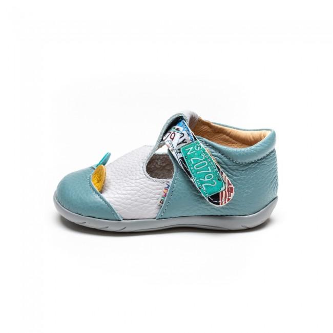 Pantofi pentru copii din piele naturala model HANI