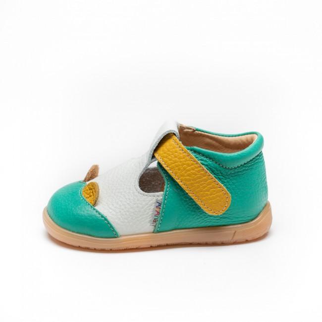 Pantofi pentru copii din piele naturala model HAULANI