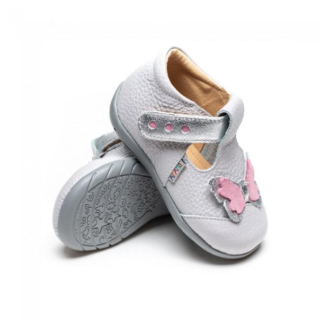 Pantofi pentru copii din piele naturala model IOLANA