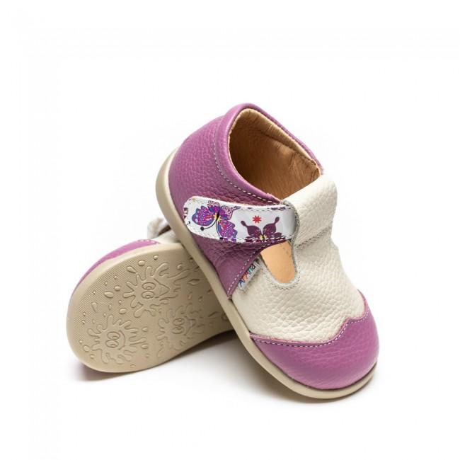 Pantofi pentru copii din piele naturala model KALEA
