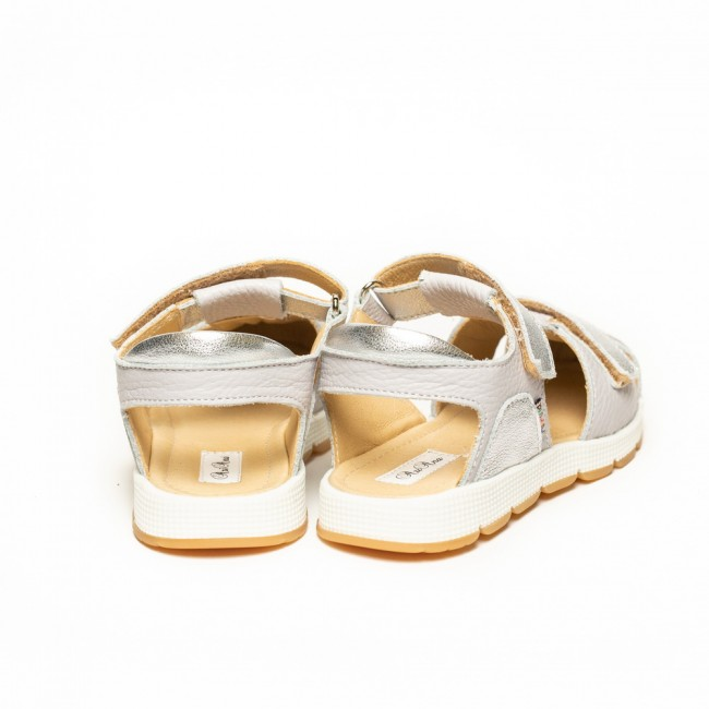 Sandale pentru fete din piele naturala model KANYA