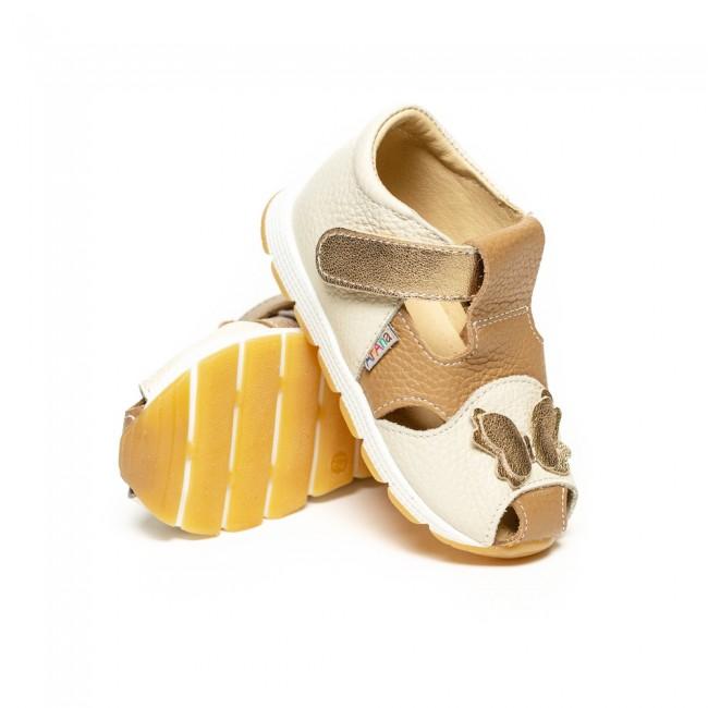 Sandale pentru fete din piele naturala model MANUELA