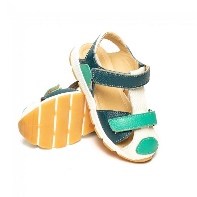 Sandale unisex din piele naturala model TANET