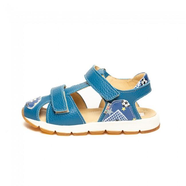 Sandale pentru baieti din piele naturala model WIRAT