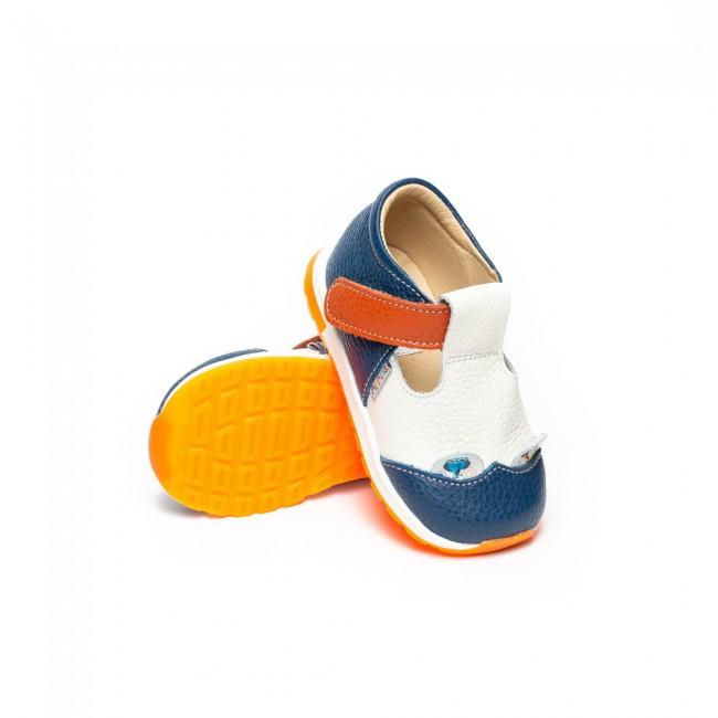 Pantofi pentru copii din piele naturala model ANTONIO